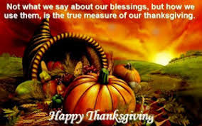 thanksgiving is a time to be thankful and thoughtful