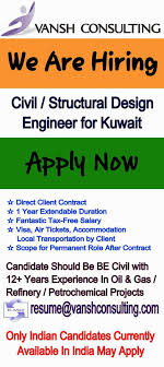 civil engineering jobs in india salary tax multiple positions lead static equipment design engineers for