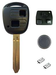 toyota yaris remote key not working toyota diy repair kit replacement 2 button remote car amazon co