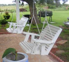 painted porch swings from callahan furniture cross plains texas