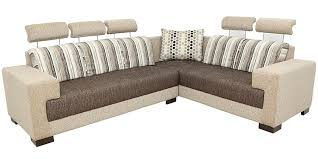 Buy Pacific Corner Sectional Sofa With Lounger With Fabric - Lounger sofa designs