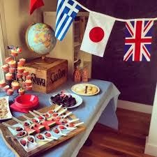 Around The World Themed An Around The World Themed Birthday