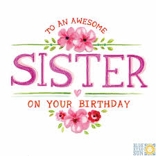jewelled flowers traditional sister birthday card 3 45