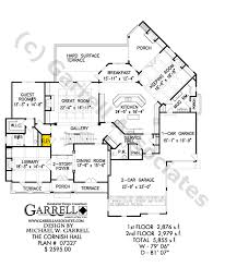 Foyer Plans Cornish Hall House Plan Barrier Free House Plans