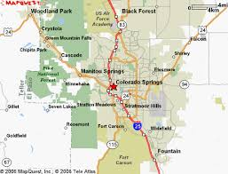 fort carson map fort carson area map local information in the colorado springs