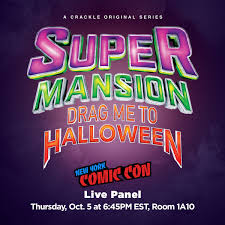 halloween save the date supermansion hashtag on twitter