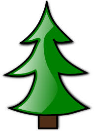 plain christmas tree clipart clipartxtras