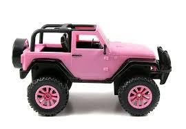 pink jeep bed amazon com jada toys girlmazing big foot jeep r c vehicle 1 16