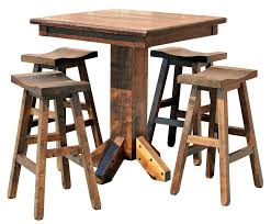 Rustic Bistro Table And Chairs Rustic Pub Table Sets Rustic Pub Set Rustic Bistro Table And