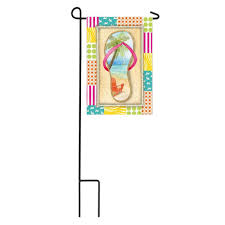 Home Depot Garden Flags Meadow Creek 1 04 Ft X 1 5 Ft Peace Dove Garden Flag With Stand