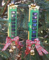 computer memory tree ornaments