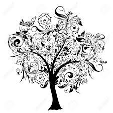 decorative tree vector illustration royalty free cliparts vectors