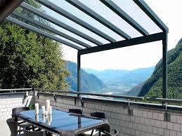 tettoie in legno e vetro tettoie per esterno per terrazzi e giardino coperture esterne