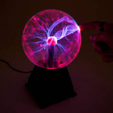 Octopus Lamp Tesla U0027s Plasma Ball 8 Inch Lamp Large Yellow Octopus
