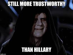 Star Wars Meme - image tagged in star wars memes hillary clinton imgflip