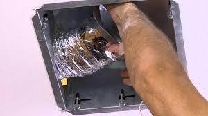 Rona Ventilateur De Plafond by Installation D U0027un Ventilateur Ez Fit Broan Fr Youtube