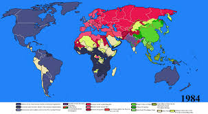 Realistic Map Of The World by Big Brother Is Watching You By Goliath Maps On Deviantart
