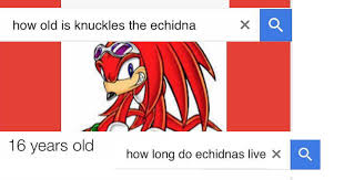 Knuckles Meme - rip in peace knuckles the echidna memebase funny memes