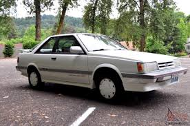 subaru leone sedan subaru leone rx all wheel drive turbo survivor original no reserve
