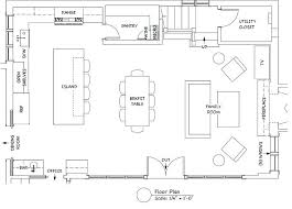 kitchen floor plans with island kitchen floor plan moute