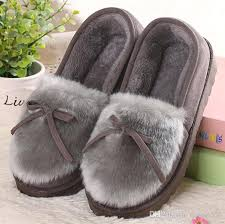 womens slipper boots size 9 sell like cakes winter slippers bowtie home floor