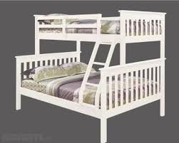 White Wooden Triple Bunk Beds For Sale In Coolock Dublin From - Triple bunk beds with mattress