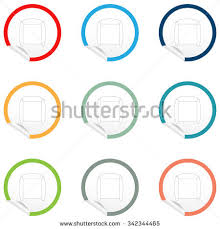 chair symbol floor plan flat chair icon on sticker floor stock vector 351980558 shutterstock