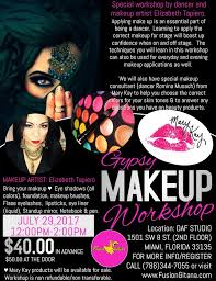 Makeup Artist In Miami Fl Gypsy Makeup Workshop Tickets In Miami Fl United States