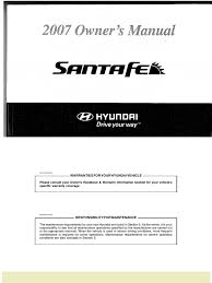 download santa fe service manual docshare tips