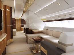 inside of boeing 747 8 private jet aviation blog
