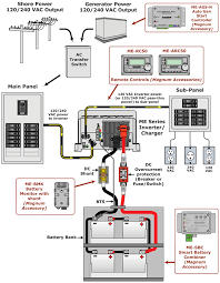 marine inverter wiring diagram diagram wiring diagrams for diy