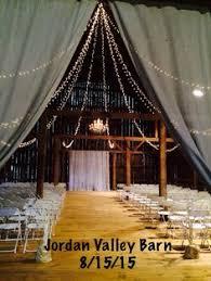 Wedding Barn Michigan Barn Wedding Venue Reception Lights Chandelier Banquet Style