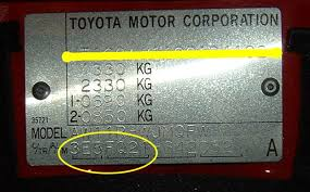 toyota celica vin decoder colour code mr2 t imports rms motoring forum