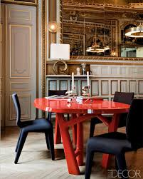 modern french style red dining room table meets 1860s par u2026 flickr