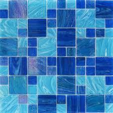 tile ideas cobalt blue accent tile glass mosaic floor tile the