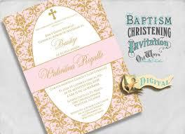 Sample Baptismal Invitation Cards Baptism Invitation Elegant Baptism Invitations Baptism