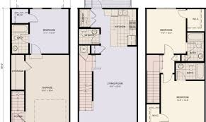 town house floor plans three story townhouse floor plans nikura