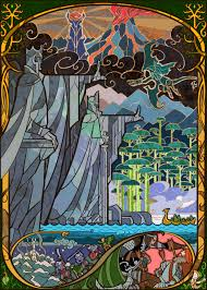 lord of the rings illustrations by chinese artist jian guo album