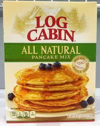 Pancake Flour Log Cabin All Natural Pancake Mix 28 Oz Ebay