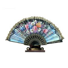 Fancy Fans Compare Prices On Folding Hand Fans Cloth Online Shopping Buy Low