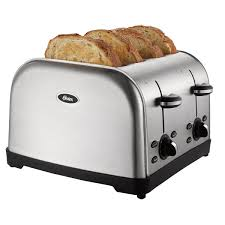 T Fal Toaster Oster 4 Slice Toaster Brushed Stainless Steel On Oster Com