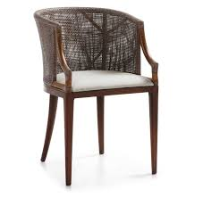 bureau en rotin fauteuil de bureau en rotin tapissé luxor