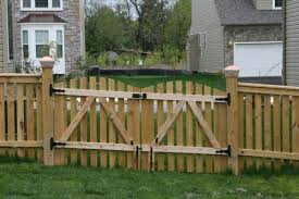 Gate For Backyard Fence 8 Tips To Build A Wood Fence Gate Frederick Fence