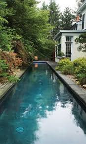 This Will Be In My Backyard I Can Do My Lap Swimming And It Can - Backyard lap pool designs