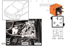 relay for hydraulic smg k5360 bmw 3 e46 m3 s54 europe