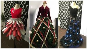 wearable christmas trees a very different fashion show prince