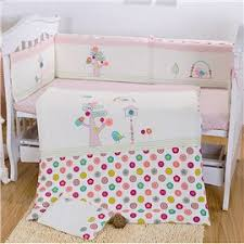 bouncy little horse pattern 10 piece crib bedding sets