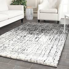 Black Grey And White Area Rugs Interior Gray And White Area Rug For Awesome Living Room