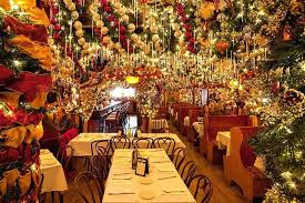 this nyc restaurant puts up 60 000 worth of ornaments