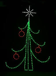 Commercial Wire Frame Christmas Decorations by Trees And Presents Scene Christmas Wire Frame With Led Lights